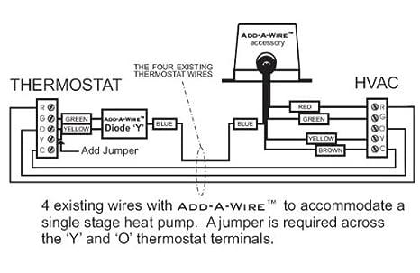 venstar acc0410 add a wire accessory for all 24 vac thermostats 4 venstar acc0410 add a wire accessory for all 24 vac thermostats 4 to 5 wires white amazon com industrial scientific