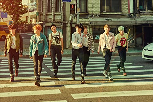 Fanstown Kpop BTS Bangtan Boys Poster The Most Beautiful Moment in Life pt.2 16.5 x 11.7 inch A3 Size Thicken Coated Paper (C01) (Best Moments In Life Images)