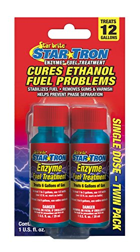 Star Tron Enzyme Fuel Treatment - Gas Formula - Shooter 2 Pack (Star Performance Engine)