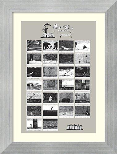 The Gashlycrumb Tinies by Edward Gorey Framed Art Print
