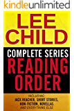 LEE CHILD COMPLETE SERIES READING ORDER: Jack Reacher series in chronological order, all short stories in order, non-fiction, and more!