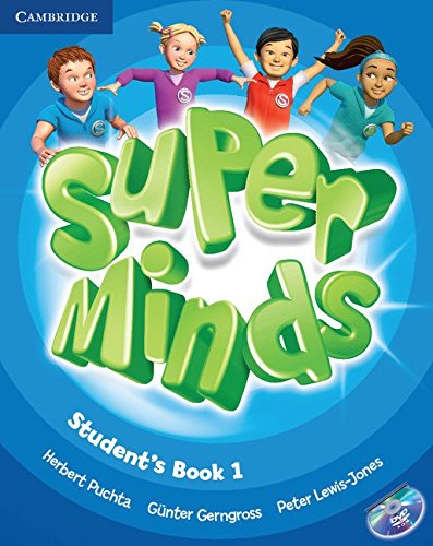 Super Minds Level 1 Student's Book with DVD-ROM -