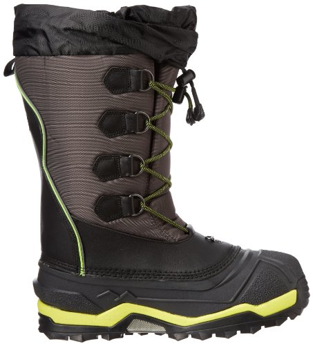 f176ac85a9 Baffin Men's Icebreaker Snow Boot,Charcoal/Fluorescent Green,7 M US ...