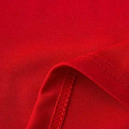 Yoga Sport Legging Taille 5XL Lache NINGSANJIN Taille Droit Grande dcontract de Haute Causal XL Femme Elastique Couleur Pantalon Femme Unie Rouge Sport RnzUv