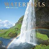 Waterfalls Wall Calendar 2018 CUTE {jg} Best Holiday Gift Ideas - Great for mom, dad, sister, brother, grandparents, grandchildren, grandma, gay, lgbtq.