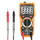 Multimeter Janisa PM18C Digital AC DC Voltage Current Resistance Tester True RMS 6000 Counts Amp Ohm Volt Multi Tester