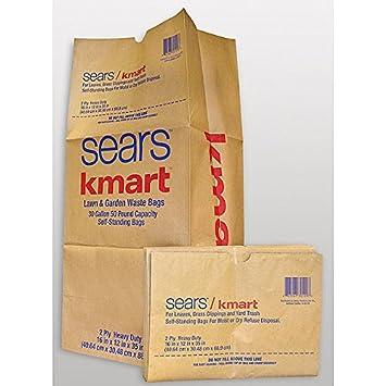 Amazoncom SearsKmart Lawn Garden Waste Bags Garden Outdoor