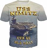 Navy Tees USS Nimitz CVN 68 Special T Shirt