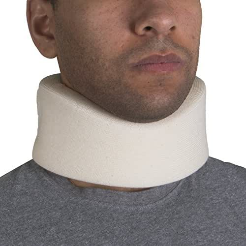 OTC Cervical Collar, Soft Foam, Neck Support Brace, Medium (Narrow 2.5