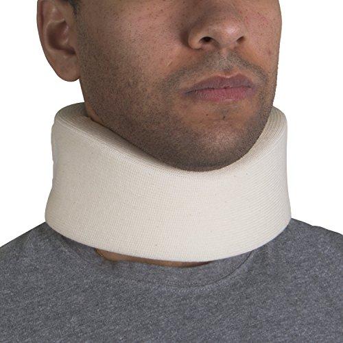 OTC Cervical Collar, Soft Foam, Neck Support Brace, Medium (Narrow 2.5