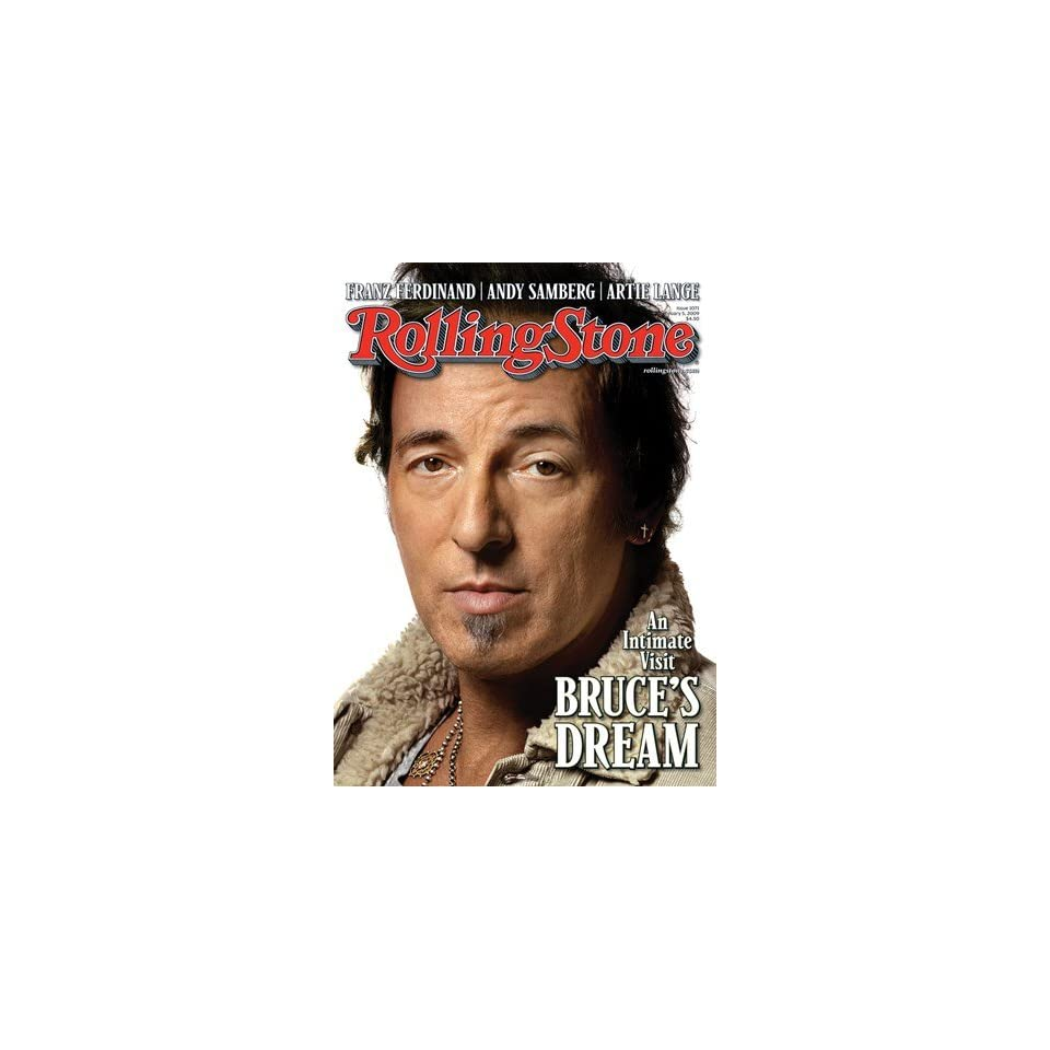 Bruce Springsteen, 2009 Rolling Stone Cover Poster Albert Watson (9.00 x 11.00)