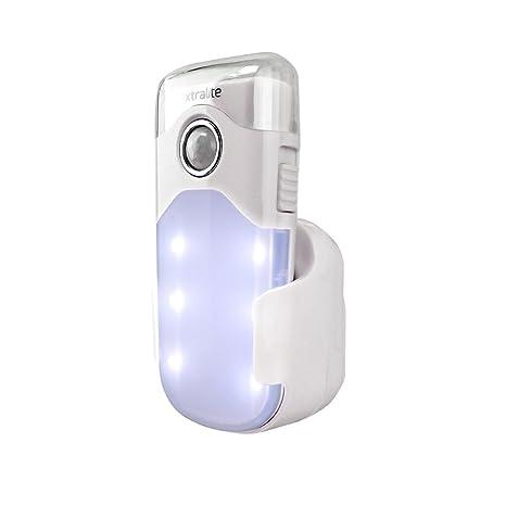 xtralite nitesafe Duo batería bares con 3 funciones de luz nocturna LED, linterna LED y