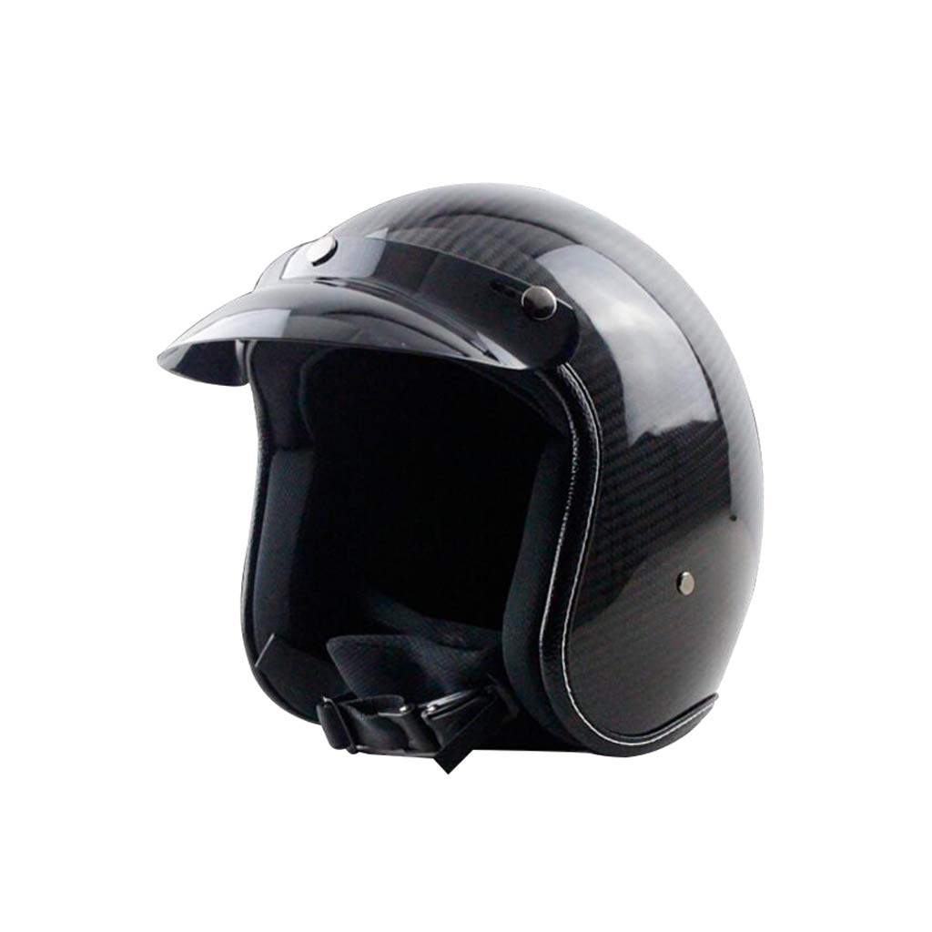 2019高い素材  ヘルメット オートバイヘルメット Medium、カーボンファイバーレトロオートサイクルヘルメット男性女性オールラウンドサイクリングヘルメットモト電気自動車ハーフヘルメットA B07PXKG2DB B07PXKG2DB ヘルメット Medium, シモダシ:7a46c32c --- advertdigitalmantra.com