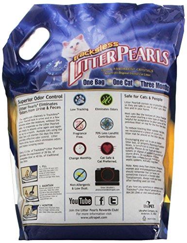 Buy ultrapet litter pearls tracks-less 10.5 pound