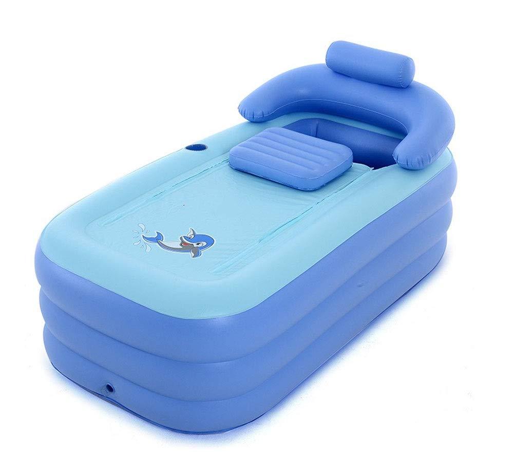 JRCOZZL Aufblasbare Badewanne, tragbare Faltbadewanne, Kunststoffbadewanne, Kinderbadewanne, Pool