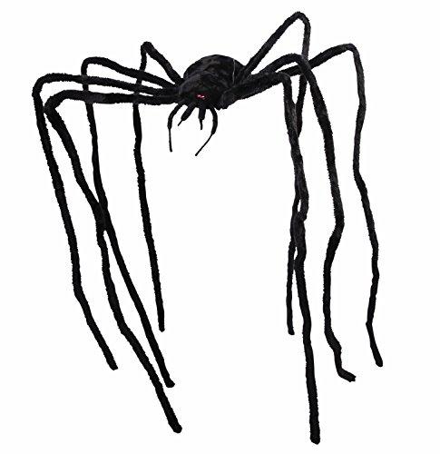 Forum Novelties Giant Spider 9ft Prop, As Shown -