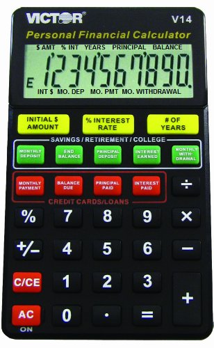 Vctv14   Victor V14 Personal Financial Calculator For Dummies