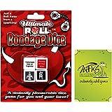 Bondage dice - Adult Game For Couples - Bundle - 2 Items