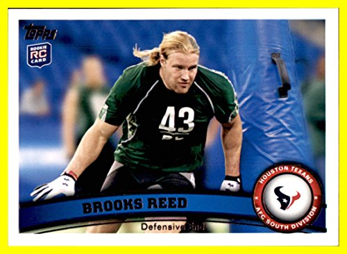 2011 Topps #29 Brooks Reed RC houston texans rookie arizona