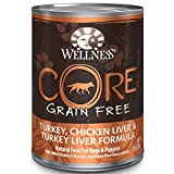 wellness dog food core - Wellness Core® Natural Wet Grain Free Canned Dog Food, Turkey & Chicken, 12.5-Ounce Can (Pack of 12)