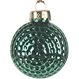 Christmas Holiday Golf Ball Tree Ornament (Green)