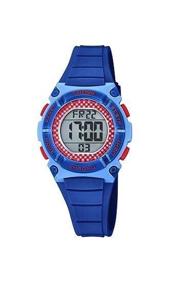 Calypso Watches Reloj Digital para Unisex Adultos de Cuarzo con Correa en Plástico K5756/8: Amazon.es: Relojes