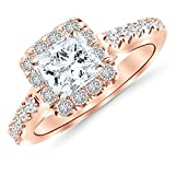 GIA-Certified-145-Carat-Princess-CutShape-Square-Cushion-Halo-Diamond-Engagement-Ring-with-a-069-Carat-HI-Colo