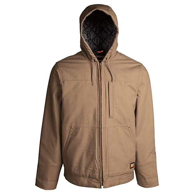 Timberland PRO Men's Big and Tall Baluster Insulated Hooded Work Jacket