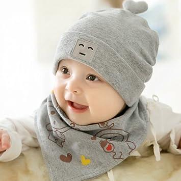 OME&QIUMEI El Bebé Recién Nacido Hat Hat 0-3-6 Meses De Primavera Y ...