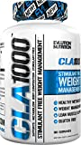 Evlution Nutrition CLA 1000 Conjugated linoleic acid, 90 Serving Soft Gel, Weight Loss Supplement, Stimulant-Free
