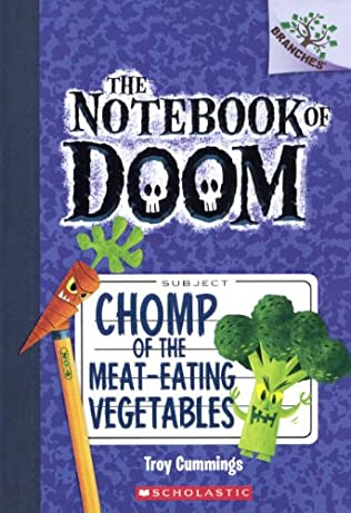 book cover of Chomp of the Meat-Eating Vegetables