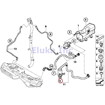 Amazon Com Bmw Genuine Fuel Ventilation Vapor System Activated