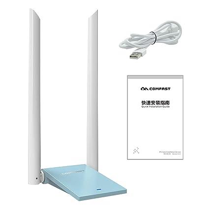 NAOTAI Nii CF-WU782AC Adaptador WiFi para PC USB 3.0 LAN ...