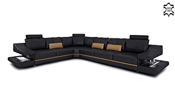 ledercouch eckcouch. Black Bedroom Furniture Sets. Home Design Ideas