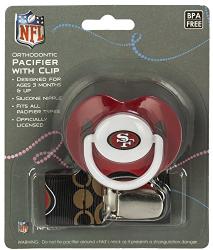 Football Team Baby Infant Pacifier