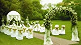 Matt Gold-Sequin Aisle Runner-4FTx40FT Wedding Sequin Carpet Aisle Runner for Wedding/Party/Event/Christmas