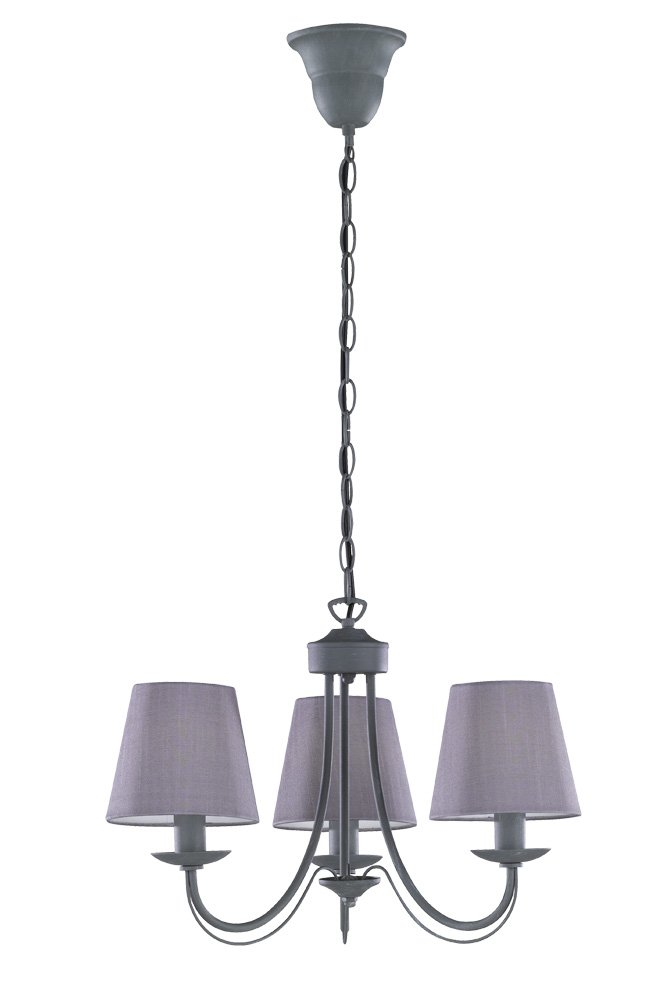 Trio Lighting Cortez L/ámpara E14 28 W Blanco 66 x 66 x 150 cm