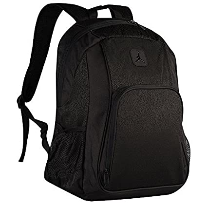Amazon.com  Nike Jumpman Jordan Classic Black Graphic Laptop Book  Basketball Student Backpack  Computers   Accessories 6dee1b2489