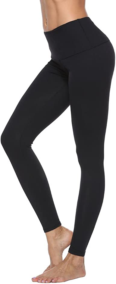 Lovely Shape Waist Yoga Pant Tummy Control for Women 4 Way Stretch Compression Leggings Tights for Running and Working Out