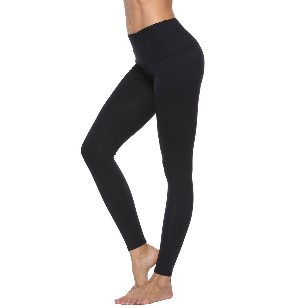 a02267cf1 RURING Women s High Waist Yoga Pants Tummy Control Workout Running 4 Way  Stretch Yoga Leggings product