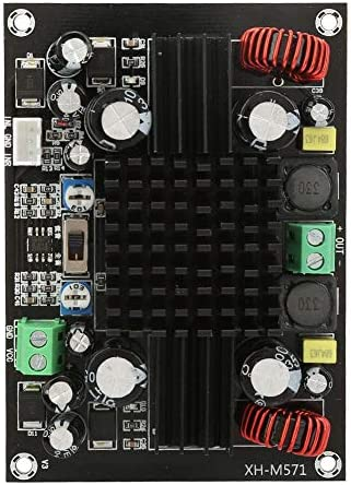 アンプボード、XH-M571ハイパワーブーストモノラル150Wサブウーファーオーディオデジタルアンプボード信頼性の高い耐久性のある小型簡単インストール