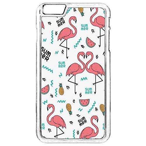 innovative design c5268 b55f2 Amazon.com: iPhone 6 Plus Plastic Case iPhone 6S Plus Flamingo Case ...