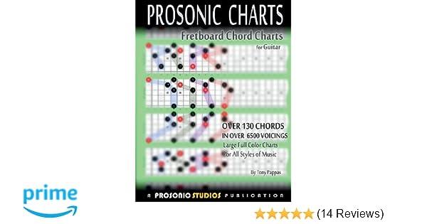 Amazon.com: Fretboard Chord Charts for Guitar (9780988963962): Tony ...