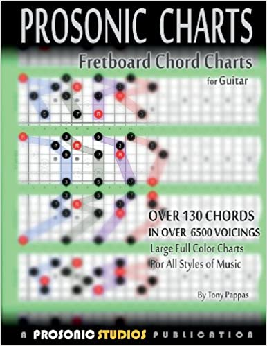 Amazon.Com: Fretboard Chord Charts For Guitar (9780988963962