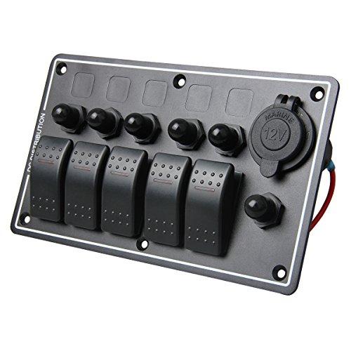 teqstone-waterproof-splashproof-marine-boat-car-switch-panel-5-gang-12v-5-led-indicator-light-6-circ