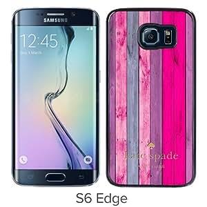 S6 Edge case,Kate Spade 183 Black Samsung Galaxy S6 Edge cover
