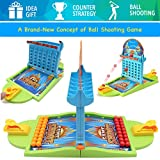 PinSpace Board Game - A Concept of Ball Shooting Game -2018 Ball Shooting Travel Game for Kids Adults Party Family Game, Idea Gift for Kids 3 years and Up