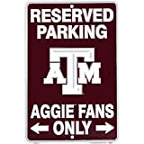 Signs 4 Fun SPSCTA TX A&M - Aggies Fans Small Parking