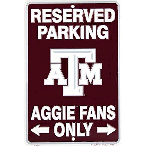 - Signs 4 Fun SPSCTA TX A&M - Aggies Fans Small Parking