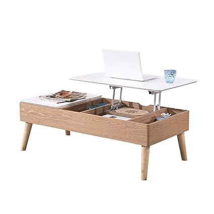 Tavolino Contenitore Da Salotto.Tavolino Da Salotto Creativo Di Sollevamento Tavolo Multifunzionale